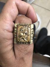 vintage Mayan  Desperado Shiek Mexico Mexican Biker Ring size 131/2