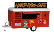Oxford 76TR007 Hard Wok Cafe Chinese Food Mobile Trailer 1/76 New in Case -T48