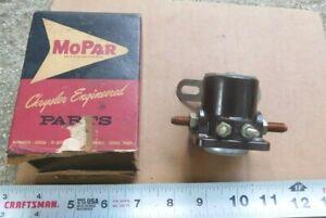 NOS MOPAR STARTER SWITCH 1960-63 DODGE DART LANCER & PLYMOUTH VALIANT 1961 1962