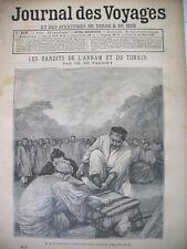 819 ANNAM TONKIN BANDITS SUPPLICE EXECUTION JOURNAL DES VOYAGES 1893