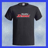 ISUZU D-MAX Logo Pick-Up Truck DMAX Men's Black T-Shirt S M L XL 2XL 3XL
