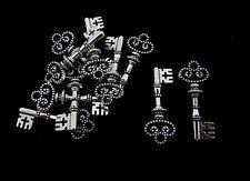10 Pcs Tibetan Silver Key charms 31 mm Pendentif Clés Bead Charme Bijoux J173