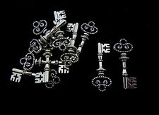 10 Pcs Tibetan Silver Key Charms 31mm Pendant Keys Bead Charm Jewellery J173