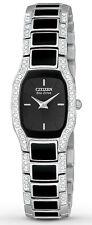 NEW Ladies Citizen Eco-Drive Normandie Swarovski Crystal Accent Watch EW9780-57E