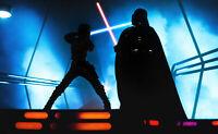 Star Wars Black Series HYPERREAL Luke Skywalker AND DARTH VADER ACTION FIGURES