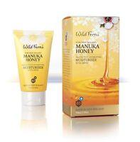 New Wild Ferns Manuka Honey Moisturiser Protective Hydrating with SPF 30 75ml