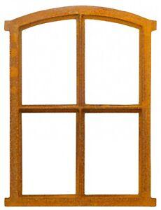 Fenster Rost Stallfenster Eisenfenster Scheunenfenster Eisen 49cm Antik-Stil a3
