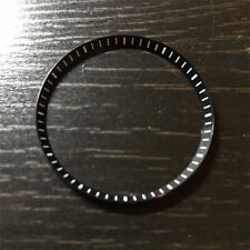 Seiko Custom SKX007 SKX Chapter Ring Black Mod Parts Yobokies Dagaz