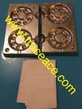 Watch Grip Lead Weight Mould with 50 lead loops (110g and 145g)