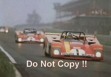Jacky Ickx Ferrari 312 PB Nurburgring 1000 Km's 1972 Photograph