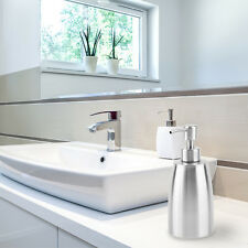 Stainless steel Liquid Pump Soap Lotion Dispenser Hand Sanitizer Bottle AU#