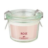 LaNature Duftkerze Rose im Weckglas