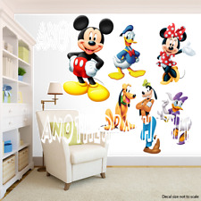 Mickey Mouse Clubhouse Gang Room Decor -  Wall Decal Removable Sticker