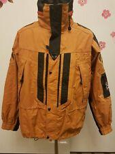 Vintage 90s Helly Hansen Equipe Jacket Helly Ski Men's Medium Mustard/Black/Gray