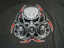 NEW Gildan Diesel Life Men's T-shirt Gray Mask YOU CHOOSE SIZE