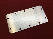1966-1977 EARLY FORD BRONCO STAINLESS STEEL DANA 20 TRANSFER CASE COVER PLATE