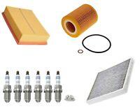 Service Kit Fits BMW Z4 E85 2.2 2.5 3.0 Bosch Air Oil Pollen Filter Spark Plugs