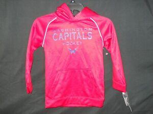 NHL Washington Capitals Hooded Sweatshirt New Youth Size S 6/7 NEW (C39)