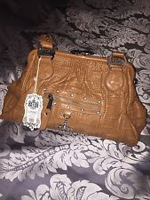 LYDC Khaki Handbag Crown BNWT