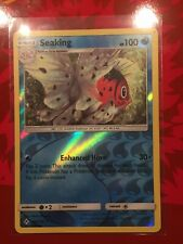 Seaking 49/214 Unbroken Bonds - Reverse Holo Rare Pokemon Card - Mint