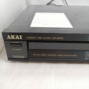 Akai CD-M512b CD Player Black HiFi Seperate - Vintage New Old Stock