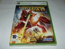 UNIVERSE AT WAR : EARTH ASSAULT by SEGA  for XBOX 360 (PAL) NEW SEALED RARE!
