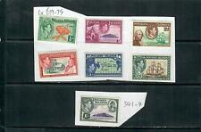 PITCAIRN ISLAND 1940 BOUNTY ISSUE x7 MOUNTED MINT