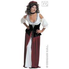 Costumi e travestimenti per carnevale e teatro da donna marrone , prodotta in Italia
