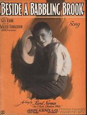 1923 Karyl Norman (Hembra Imitador) Placa Metálica Musis (Beside a Balbuceantes
