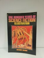 Vintage 1975 One Hundred Years Of Science Fiction Illustration Anthony Frewin e3