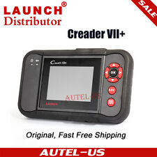 Launch Creader VII+ OBD2 OBD Code Reader Diagnostic Tool Transmission Airbag ABS