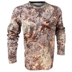 King's Camo Men's Hunter Series Long Sleeve Shirt Desert Shadow