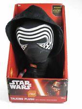 STAR WARS VII la forza si sveglia 24cm parlando kylo REN peluche giocattolo. nuovi e confezionati!