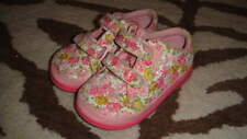 LELLI KELLY PINK BEAD SEQUEN FLORAL  SHOES 25 US 8