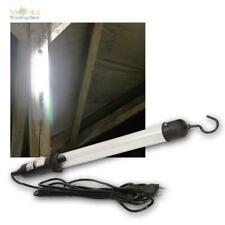 LED Arbeitsleuchte Kfz Werkstattlampe, 230V 8,5W 500lm Stablampe Handlampe Haken