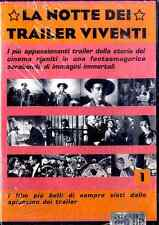 LA NOTTE DEI TRAILER VIVENTI Volume 1 DVD FILM SEALED