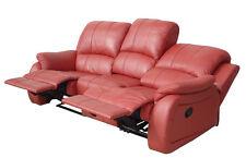 Voll-Leder Couch Sofas Garnitur Relaxsessel Fernsehsessel 5129-3-206 sofort