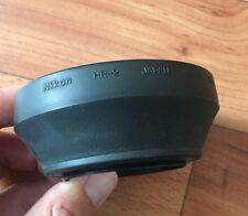 Original Nikon HR-2 52mm rubber lens hood