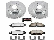 For 2016 Chevrolet Suburban Brake Pad and Rotor Kit Front Power Stop 53497NX