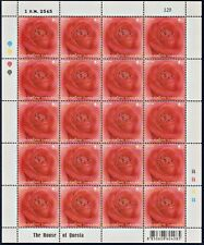 Thailand Stamp 2002 Rose (Red Roses) FS **All Border Perf.