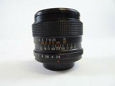 Auto Eyemik-Quantaray 28mm F/2.8 M42 Screw Mount Lens in Excellent Condition