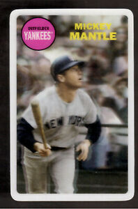 2012 TOPPS ARCHIVES MICKEY MANTLE 3-D