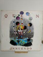 Queen innuendo vinyl Lp Record A2 B1 first press