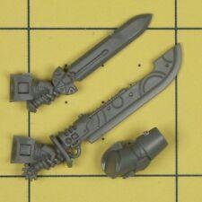 Warhammer 40K Space Marines Deathwatch Kill Team Xenophase Blade & Power Sword