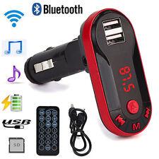 Trasmettitore FM wireless Bluetooth Kit vivavoce per lettore musicale MP3 USB CH