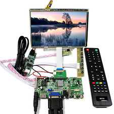 "HDMI+VGA+2AV+USB+Audio LCD Controller board 7"" HSD070PWW1-C00 1280x800 Touch LCD"