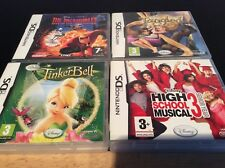 Nintendo DS Disney Incredibles, Tinkerbell, Tangled Games