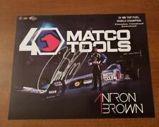 Antron Brown Signed 2019 Hero Card