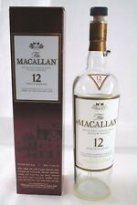The MACALLAN 12 Year Old Highland Single Malt Scotch Whisky Empty Bottle & Box