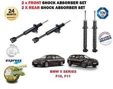 POUR BMW F10 520D 525D 530D 535D 2010 > 2X Avant + Arrière Amortisseur Choquant Set
